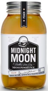 Midnight Moon Junior Johnson's Peach Moonshine 750ml